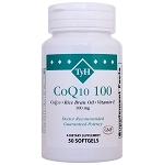 CoQ10 100 mg (CoQ10 & Vitamin E) 50 Softgels